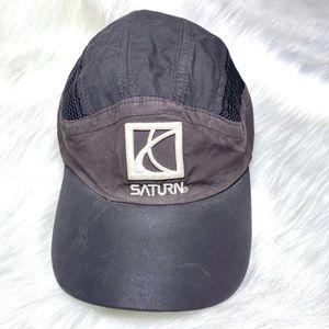 Vintage Saturn Hat Cyclist Baseball Cap 80s 90s